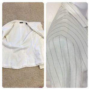 ATM Anthony Thomas Melillo Jackets & Coats - ATM Anthony Thomas Melillo Schoolboy Stripe Blazer